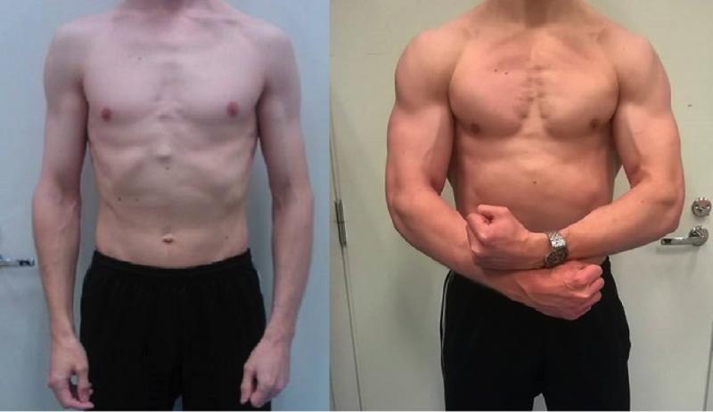 Lihaskasvu Vuodessa